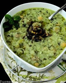 Turmeric and Saffron: Ash-e Mast - Hearty Persian Yogurt Soup