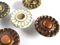 Mixed Lot of Vintage Drawer Pulls Floral Variety by Iprefervintage, $15.00