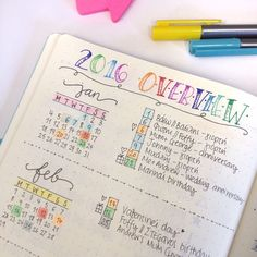Introducing Calendex as a way for future planning with your bullet journal.: