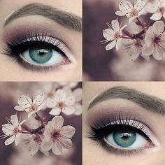 cherry blossom makeup