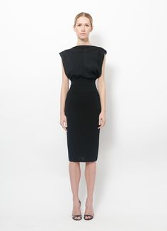 Alaïa | 80's Open Back Dress | RESEE