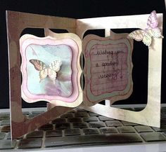 Altered Scrapbooking: First Accordian Card