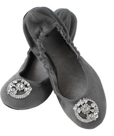 c29d596303827b Gray Flannel Madison Ballet Flat by Jamie Kreitman on