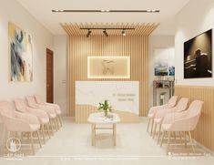 Medical Office Interior, Dental Office Decor, Medical Office Design, Modern Office Design, Office Furniture Design, Clinic Interior Design, Clinic Design, Waiting Room Design, Cabinet Medical