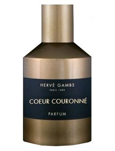 Coeur Couronne Herve Gambs Paris perfume - a new fragrance for women and men 2013