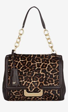 Diane von Furstenberg Leopard Handbag
