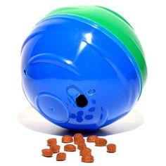 Redondog Comedouro Brinquedo Azul e Verde Petgames - MeuAmigoPet.com.br #petshop #cachorro #cão #meuamigopet