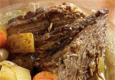 Crockpot Savory Pot Roast - Linda Larsen