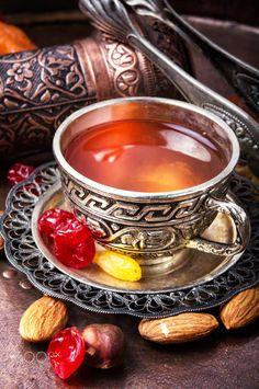 Buy Tea in east style by Nikolaydonetsk on PhotoDune. Arabic tea with nuts and oriental sweets.Tea still life Arabic Tea, Fresco, Eid Food, Bakery Branding, Buy Tea, Mint Tea, Breakfast At Tiffanys, Tea Art, Coffee Love