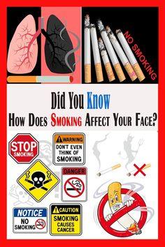 #Smoking #SmokingAffect #Face #QuitSmoking Smoking Cancer, People Smoking, Stop Smoke, Fb Page, Health Magazine, Take Care Of Yourself, Did You Know, Face Age, Have Fun