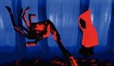 """Red """"Chapeuzinho Vermelho"""" ganha uma nova e aterrorizante versão nessa animação criada por Jorge Jaramillo e Carlo Guillot. Assista Red! http://ilustracaodeideias.com.br/animacao/red/ #Animacao #Animation #CarloGuillot #ChapeuzinhoVermelho #IlustracaodeIdeias #JorgeJaramillo #ManuelBorda #MarkosMugen #Red #Vermelho"""