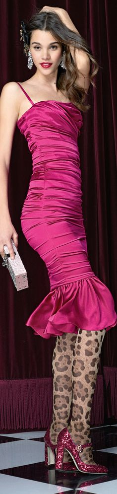 #Farbbberatung #Stilberatung #Farbenreich mit www.farben-reich.com Dolce and Gabbana SS 2017
