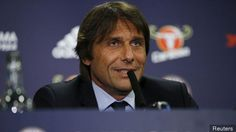 Chelsea boss Antonio Conte really really loves talking about work in first press conference (Video)