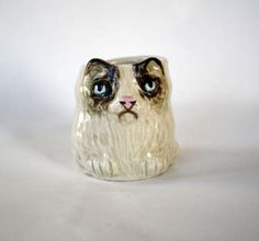 Small Grumpy Cat Shot Glass by potsdamelf on Etsy, $25.00