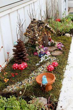 Inspiring Rock Garden Design Ideas To Beautiful Frontyard landscaping #rockgarden #backyard #gardendesign #frontyard #stone