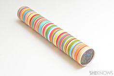 diy kaleidoskope - nice gift to make with kids!