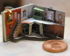 1/12  Secret Garden Miniature PopUp book by JanasMinibooks on Etsy, $70.00