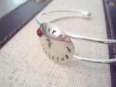 Medical ID Bracelet  Personalized Jewelry  by CrookedCrystal, $22.99