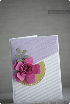 Spotlight Sentiments, Blueprints 18 Die-namics, Large Hybrid Heirloom Rose Die-namics, Stitchable Dot Circle STAX Die-namics - Keisha Campbell #mftstamps
