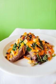 (Watertown, MA) Red Lentil Vegetarian & Vegan: #Vegan Near East Seitan with Teff Crepe