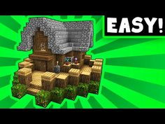 Humble Little House With Porch! - Minecraft Tutorial - YouTube