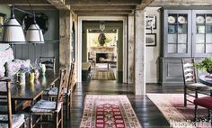 Hallway  - HouseBeautiful.com