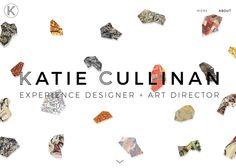 Portfolio site of experience designer/art director Online Portfolio Design, Online Web Design, Portfolio Site, Art Director, Cool Websites, Artist, Artists