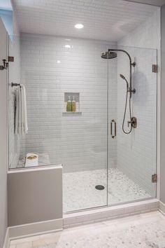 Walk-in shower idea