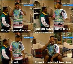 Fresh Prince. Forever my favorite ❤