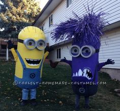 These costumes were basically set to be made after watching Despicable Me 2 with the family, the two youngest ones were hooked. I did however start th...
