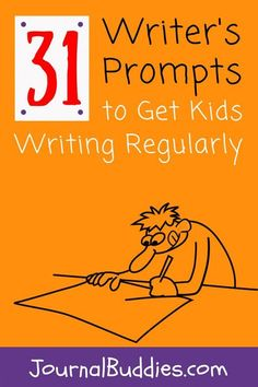 Try this! It's an English teacher's worst-kept secret: the more kids write, the better they get at writing. To help you get your students writing regularly, we've created a special month-long series of writing prompts to use in your middle school classroom. via @journalbuddies