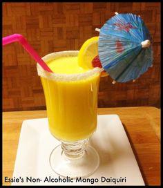 Essie's Non-Alcoholic  Mango Daiquiri