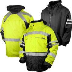 ML Kishigo JS135 Black Series 2-in-1 Safety Jacket