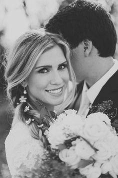 wedding photo, modest wedding dress