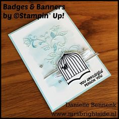 badges & banners by Stampin' Up!