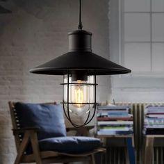 Klassiker Industrielampe Deckenleuchte Metall Shade Pendelleuchte Fabriklampe