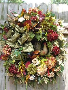"""""""Le COQ""""  FRENCH COUNTRY, TUSCAN, OLD WORLD, ROOSTER, ENGLISH DECOR, DOOR WREATH #Handmade"""