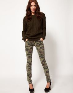 e58bca46ea42 8 best Stunning Camo Skinny Jeans images on Pinterest