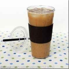 Only 27 calories: 24 oz. Super Sweet Iced Coffee.  No dairy, no sugars, no artificial sweetners!!