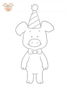 Wibbly Pig – Wibbly Pig Coloring Pages for Kids | Sprout, malacka