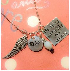 FREE SHIP Loss of a loved one memorial by CharmedJewelryByCDay