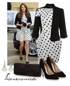 Get The Look - Kate Middleton by loveronica on Polyvore featuring polyvore fashion style Closet Bardot J by Jasper Conran Principles by Ben de Lisi Henri Bendel clothing