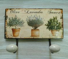 Great Pinterest page of wooden signs and hangings
