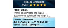 Thanks sa knowledge and sa pag accommodate during our internship! :)