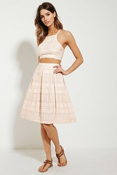 POSSIBLE PURCHASE: SKIRT FOR FEMALE STUDENT   $25.00 From Forever 21 Contemporary Pleated Skirt  - Could work for our female student + a blouse / cardigan?
