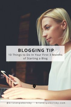 Starting a blog?  Here's 10 essential things you should do in the first three months to get more traffic, leads & sales.