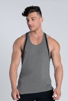 Athletic Outfits, Athletic Shorts, Sport Outfits, Athletic Clothes, Mens Leisure Wear, Gym Outfit Men, Shape Of Your Body, Grey Trim, Gym Shorts