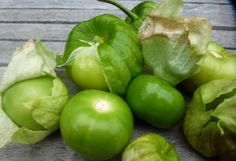 Look for the husks to dry and split to mark maturity, fruit will remain apple green.  Excellent flavor, heavy re-seeder.