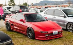 Toyota on XXR 527 Wheels – Rides & Styling - Everything About Cars Toyota Mr2, Toyota Supra Mk4, Tuner Cars, Jdm Cars, Honda Nsx R, Classic Japanese Cars, Japan Cars, Modified Cars, Sport Cars