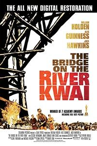 The Bridge on the River Kwai (1957) - This is a great war movie. The movie is about American and British POW in a Japanese camp. They are forced to build a bridge for a rail road for the Japanese to supply their troops. Not all goes as planned though. A must watch. 5 of 5